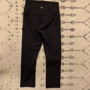 Lululemon wunder under luon crop new without tag